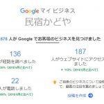 ホームページとGoogleマイビジネスのアクセス数を比較した事がありますか?