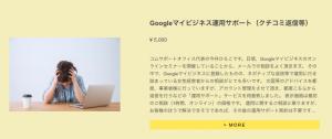 Googleマイビジネス管理代行