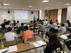 たけの観光協会主催GoToトラベル勉強会の様子。講師はコムサポートオフィス今井ひろこが担当。